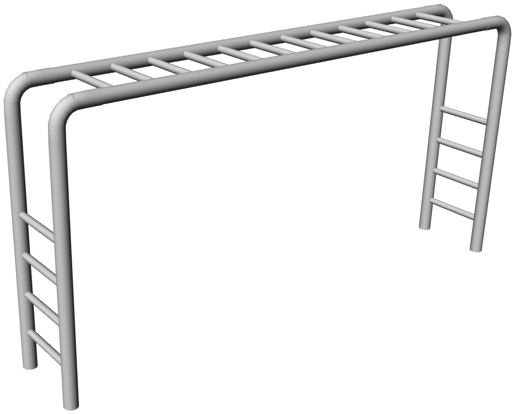 Download monkey bars clipart for your website.