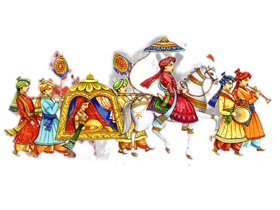 Indian Wedding png images and clipart free download.