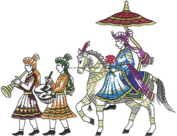 Baraat clipart 2 » Clipart Station.