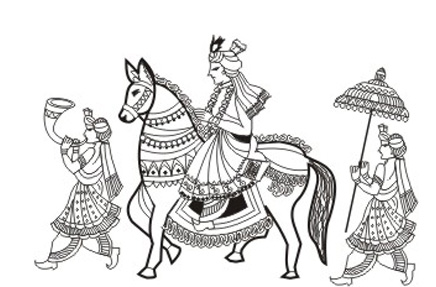 Indian wedding baraat clipart 2 » Clipart Station.
