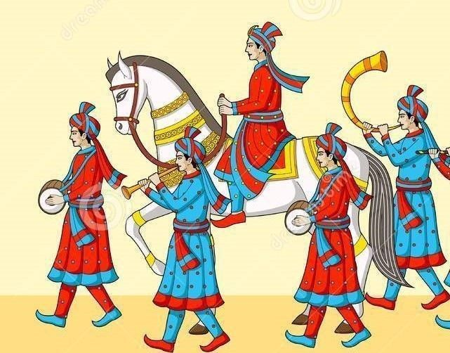 Indian wedding baraat clipart 5 » Clipart Station.