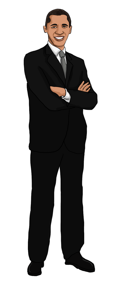 Free to Use & Public Domain Barack Obama Clip Art.