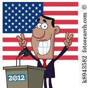 Barack hussein obama Clip Art Vector Graphics. 3 barack hussein.