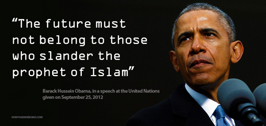 BARACK HUSSEIN OBAMA orders Americans to mark the end of.