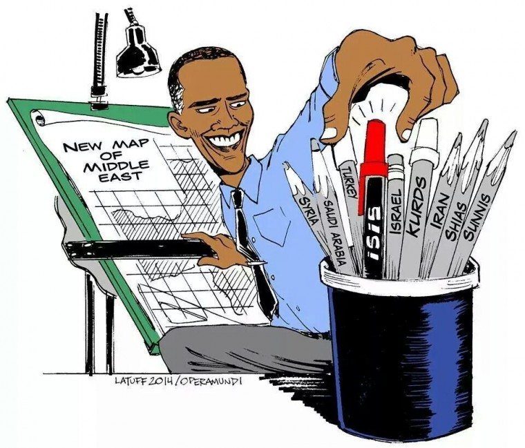 As long suspected, Barack Hussein Obama has been supporting the.