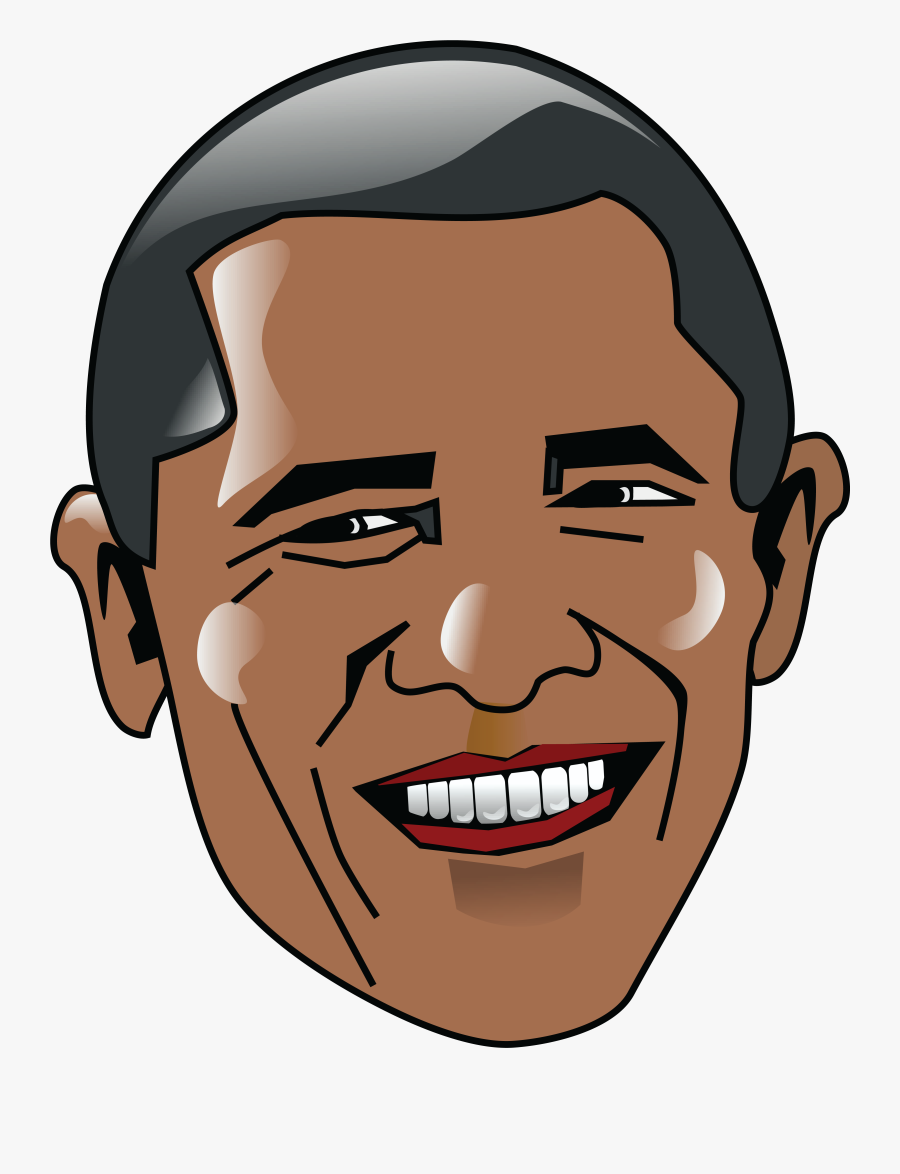 Clip Art Royalty Free Library Barack Usa President.