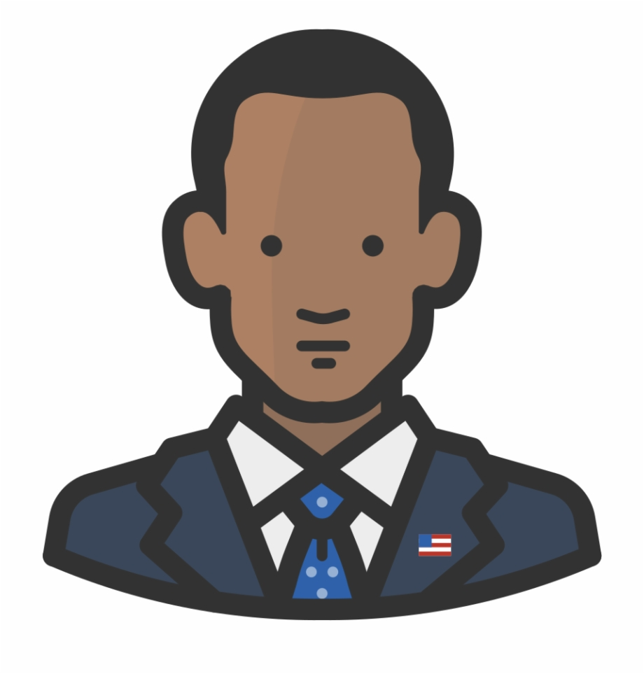 Barack Obama Icon.