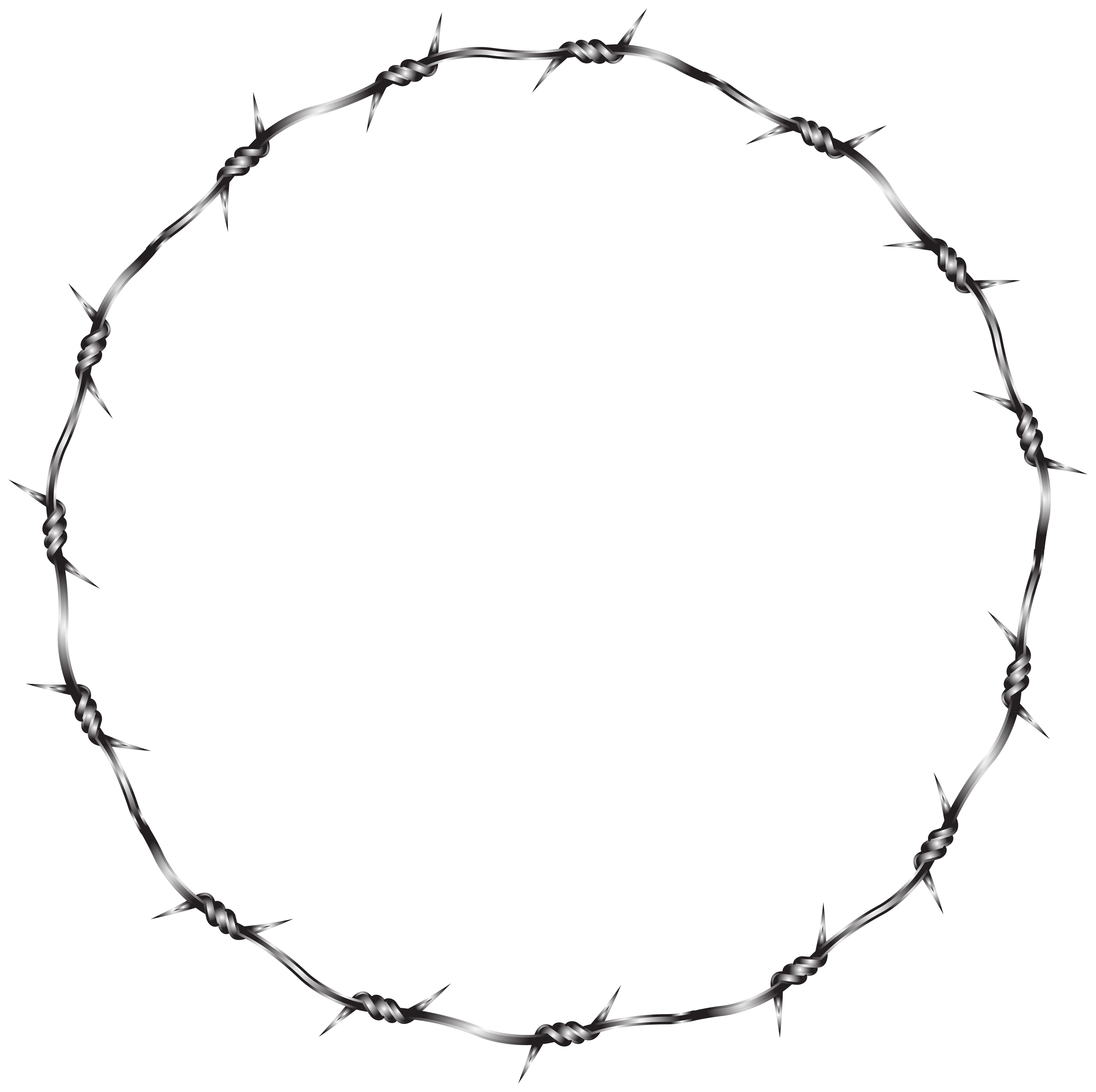 Barbed Wire Clipart Transparent.
