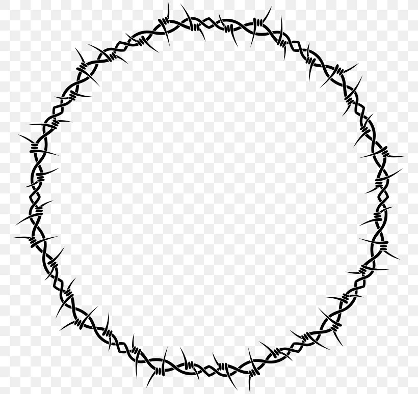 Barbed Wire Clip Art, PNG, 774x774px, Barbed Wire, Area.