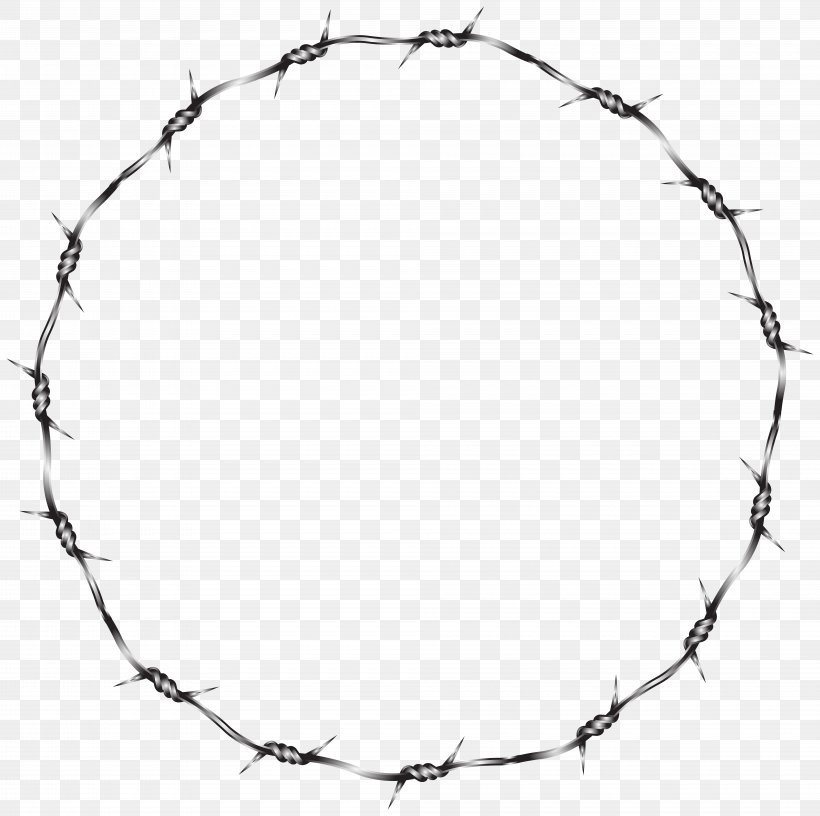Barbed Wire Fence Clip Art, PNG, 8000x7970px, Barbed Wire.