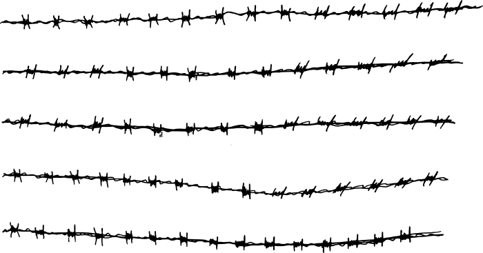 Barb Wire Png Vector, Clipart, PSD.