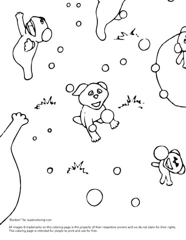Barbaloots coloring page.