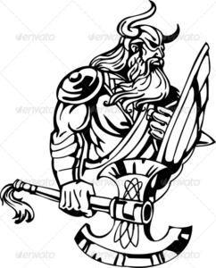 Barbarian Sword Clipart.