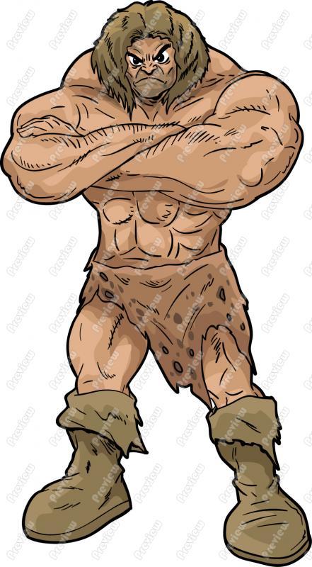 Barbarian Clip Art.