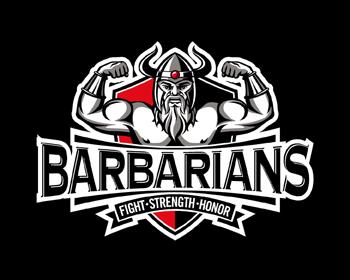 Barbarians Logo Design.