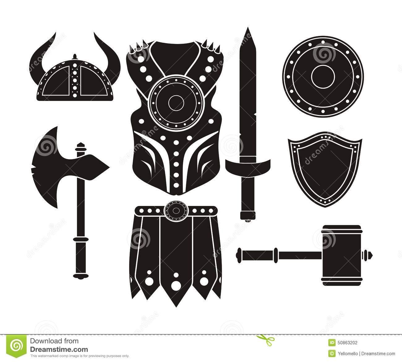 Barbarian Equipment.