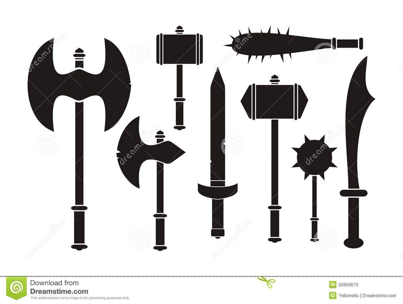 Barbarian Weapon.