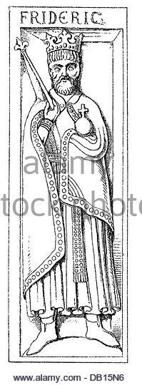 Frederick King Barbarossa Holy Roman Stock Photos & Frederick King.