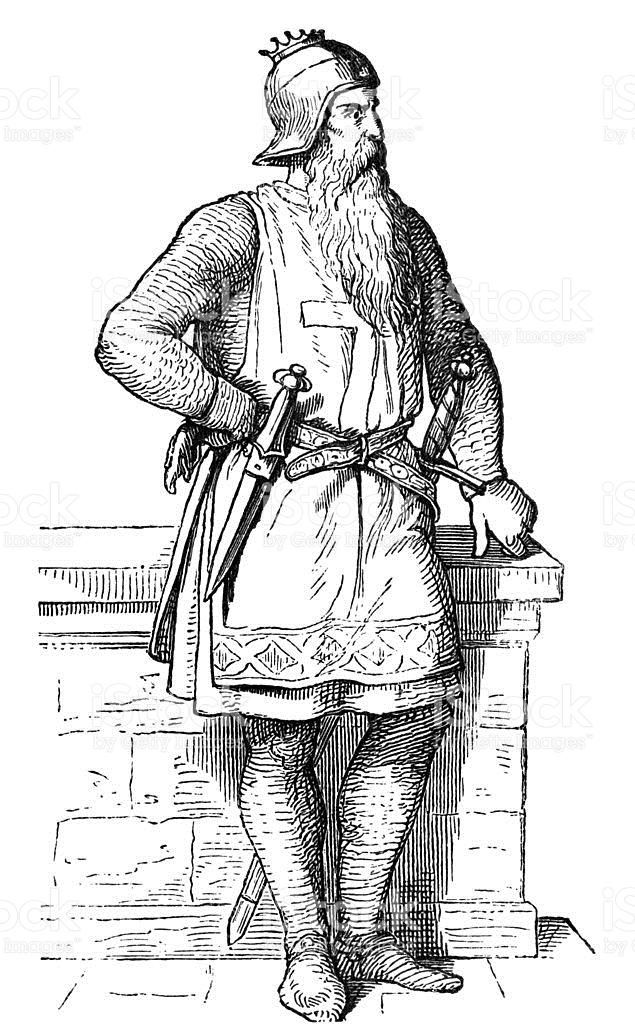 Frederick I Barbarossa stock vector art 158750537.