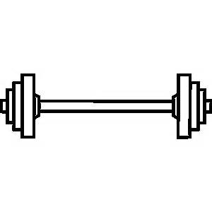 Free Barbell Clipart Black And White, Download Free Clip Art.