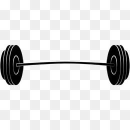 2019 的 Flat Barbell, Barbell Clipart, Movement, Fitness PNG.