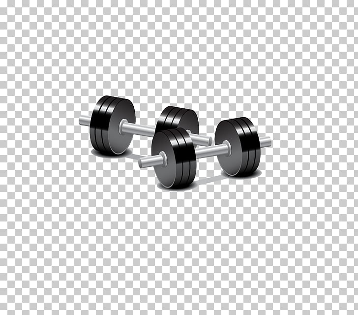 Dumbbell Barbell Weight training Physical exercise, dumbbell.