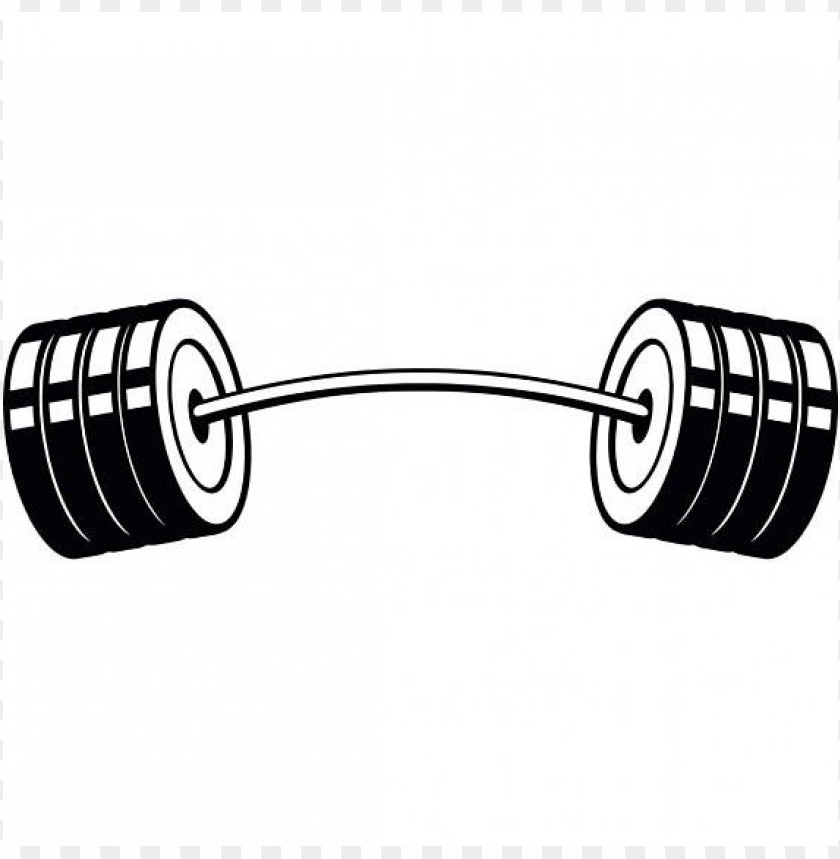 Download bent barbell clipart png photo.
