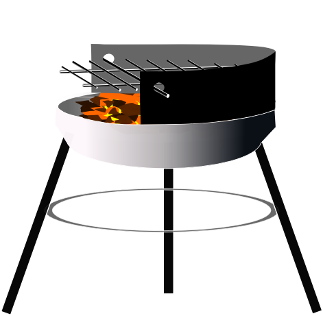 Barbecue grill clipart.