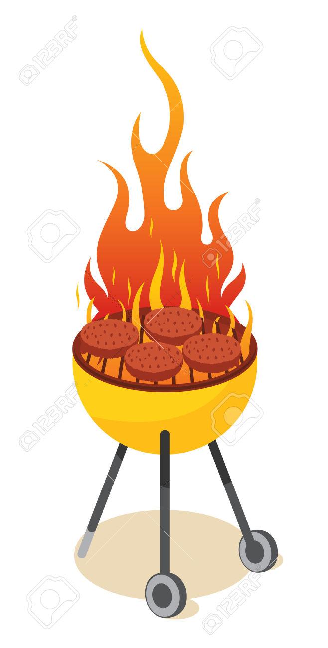 Clipart bbq grill.