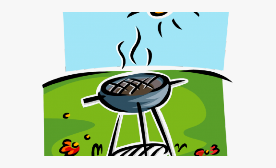 Barbecue Clipart Beach.