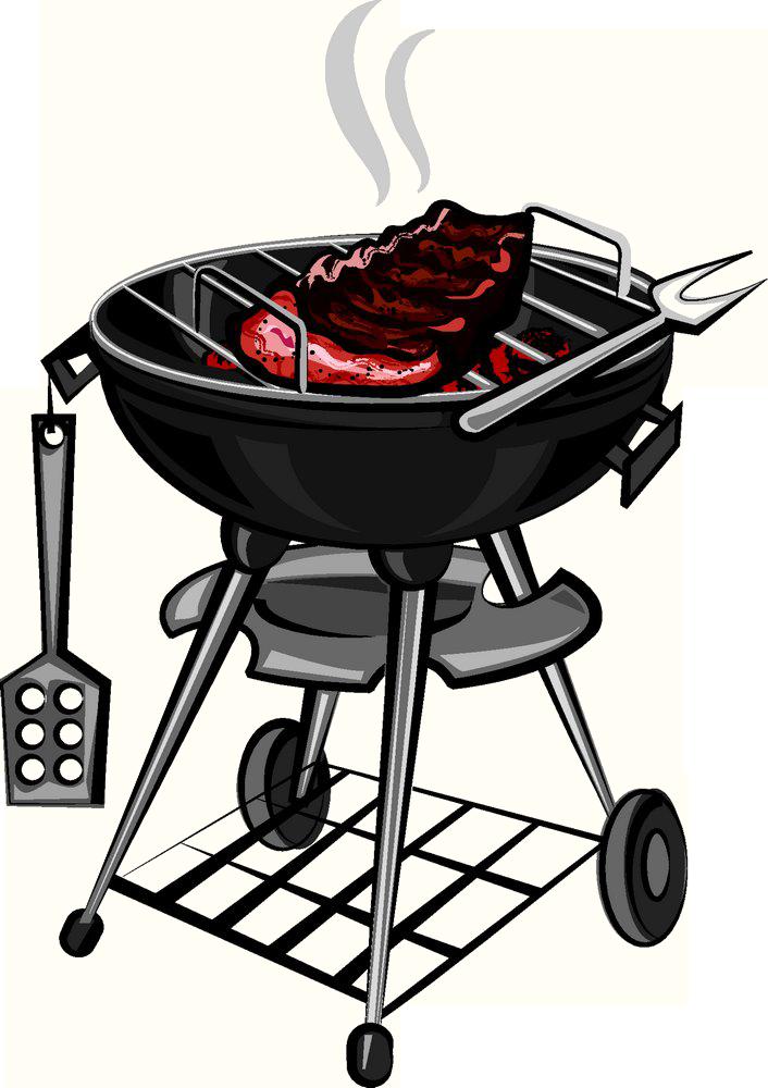 Grill clipart outdoor grill, Grill outdoor grill Transparent.