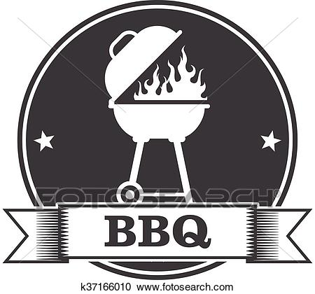 Barbecue (bbq) and grill party Clipart.