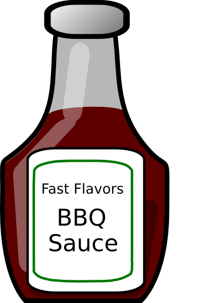Sauce Clipart.