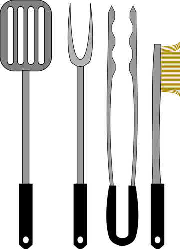 Barbecue tools.