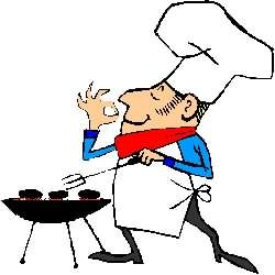 Free Clipart ★ BBQ Page 1: for Labor Day Weekend; barbecue grills.