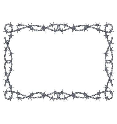 Barbed clipart #17