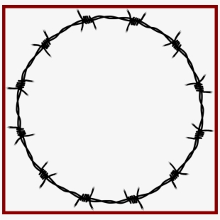 Fence Clipart Circle.
