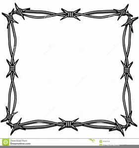 507 Barbed Wire free clipart.