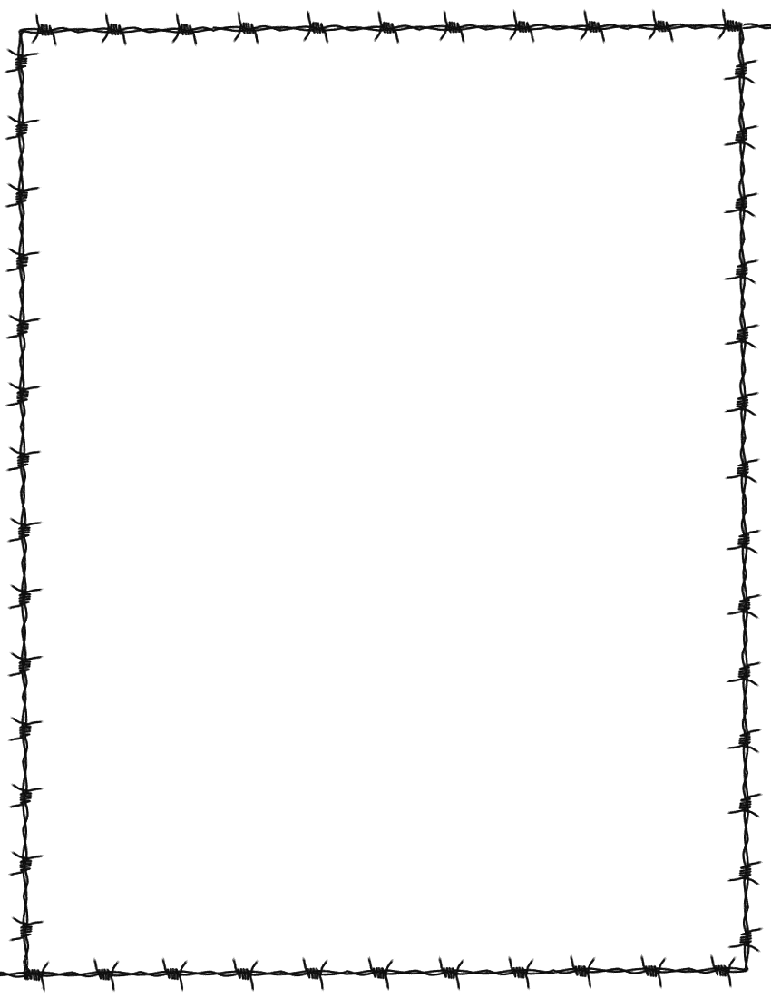 Barbed Wire Clipart Border Free.