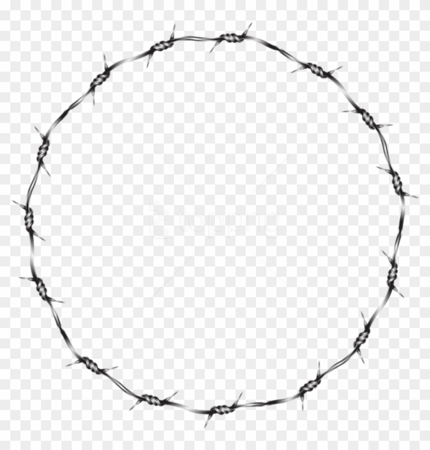 Free Png Download Wire Round Border Transparent Clipart.