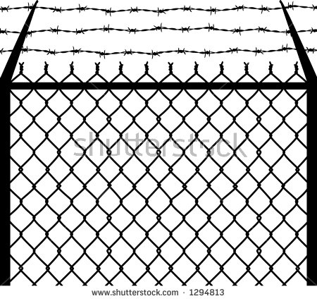 Barbed Wire Fence Clipart Clipground
