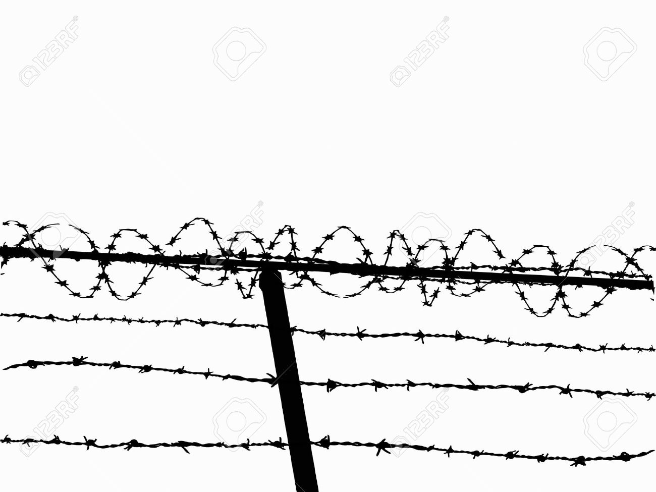 barb wire fence clip - photo #8