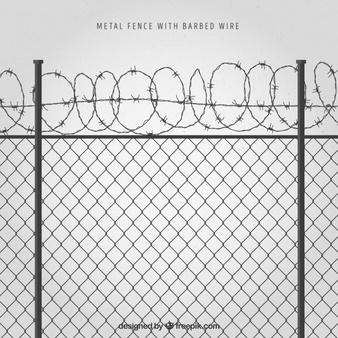 Barbed Wire Vectors, Photos and PSD files.