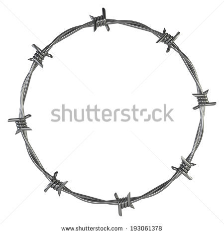 Razor Wire Stock Photos, Royalty.