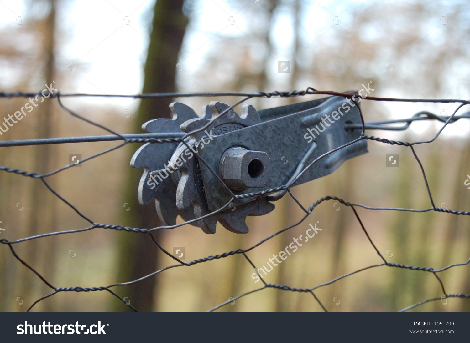 Ratchet Used To Tighten Wire Fences To The Correct Tension In The.
