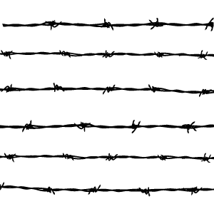The first patent in the United States for barbed wire was.