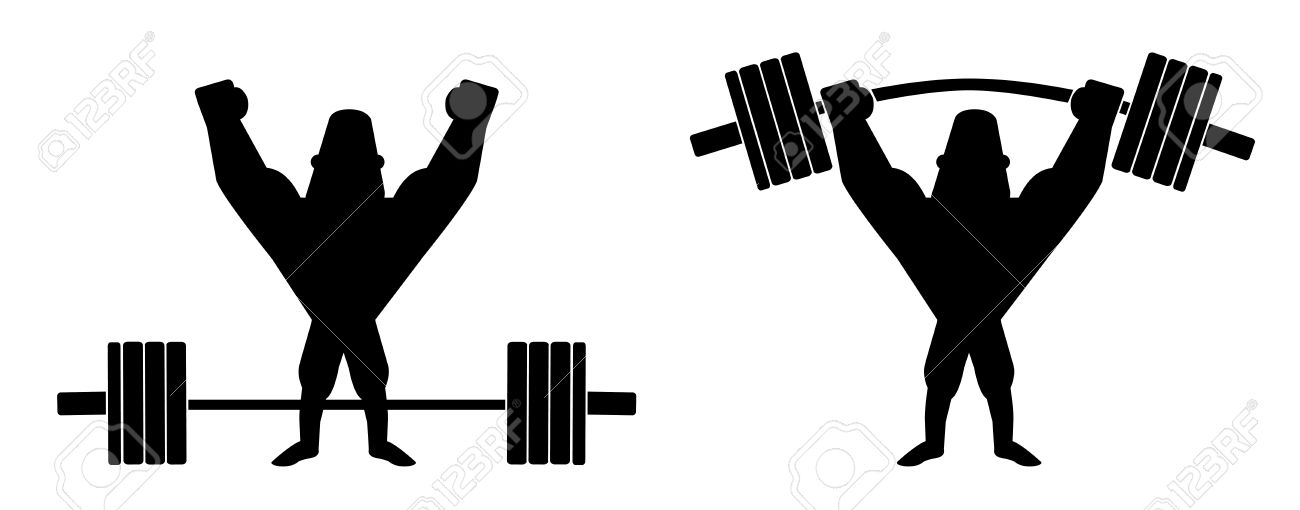 Barbell Clipart Images.