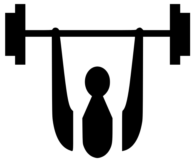 Image of Barbell Clipart #3986, Barbell Clip Art.