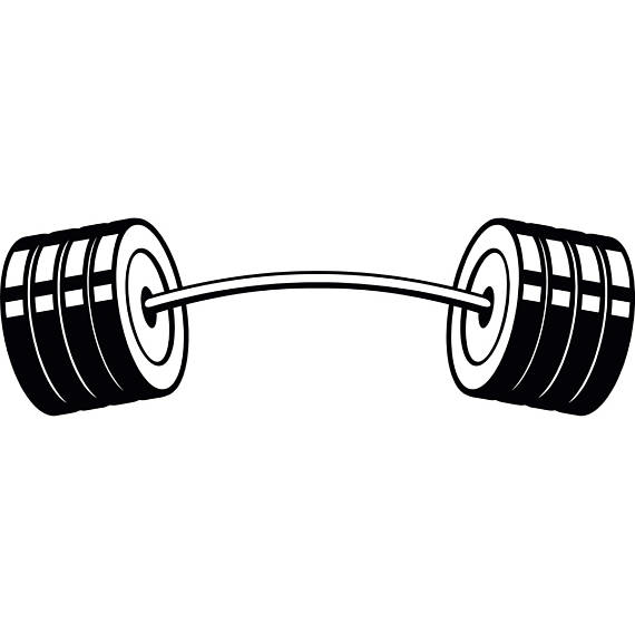 Download Free png Barbell #4 Curved Bar Weightl.