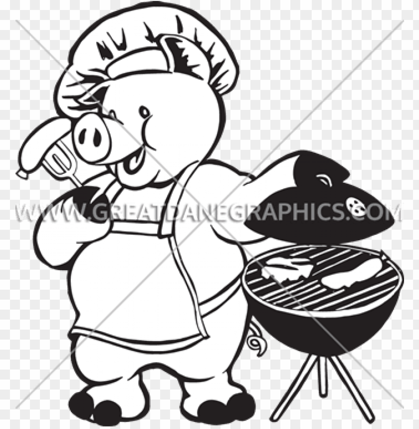 free barbecue clipart pig bbq PNG image with transparent.